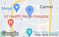 Map of Carmel, IN